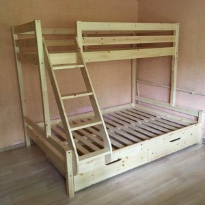 Dviaukųtė-lova-onoidėja