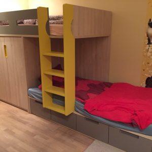 DViaukštės-lovos