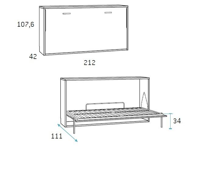 lovų-spintų-matmenys-forma-baldai