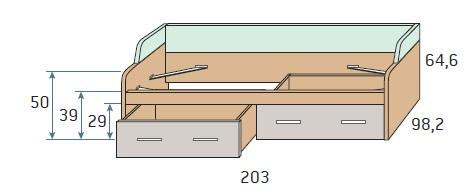lova su-stalčiais