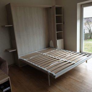 Двуспальная спальня-кровать-шкаф