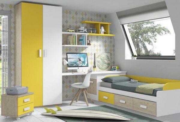 jaunuolio-kambarys-lovos-vaikams-viengulės