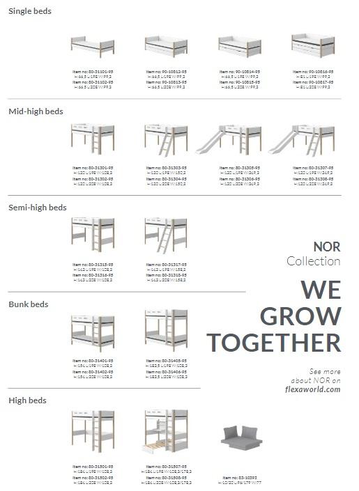 Flexa-nor-vaikiški-baldai-vaikams-lovos