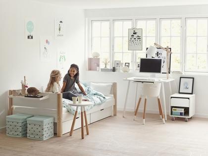 mergaitės-kambario-baldai-flexa-white