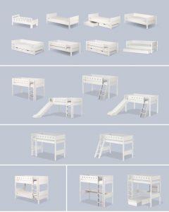 Flexa-lovos-modulinės-vaikams-jaunuoliams