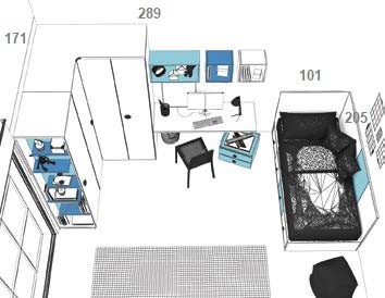 Jaunuolio-baldų-komplektas