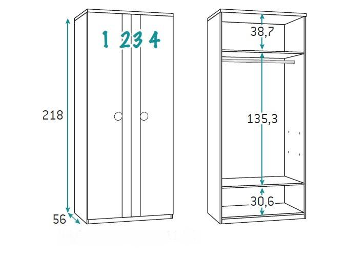 dviejų-durų-spinta-su-dviejų-spalvų-durimis