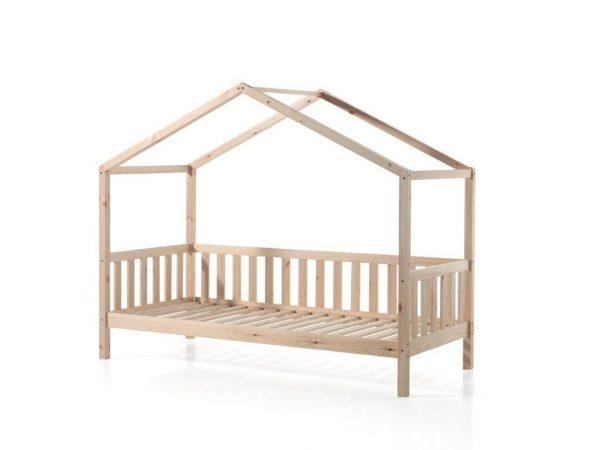 medinė-lova-namelis-vaikams