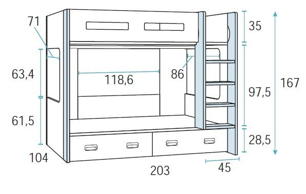 dviaukštė-lova-jaunuolio-kambariui-su-stalčiais