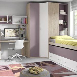 lovos-dvieju-vaiku-kambariui