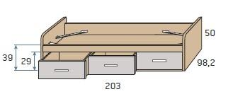 viengulė-lova-su-3-stalčiais-vaiko-kambario-baldai