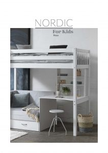 baldai-vaikams-nordeic-kainos