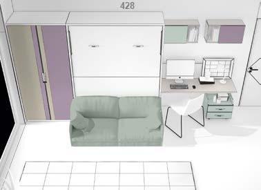 lova-spintoje-sofa-lova-monoidėja