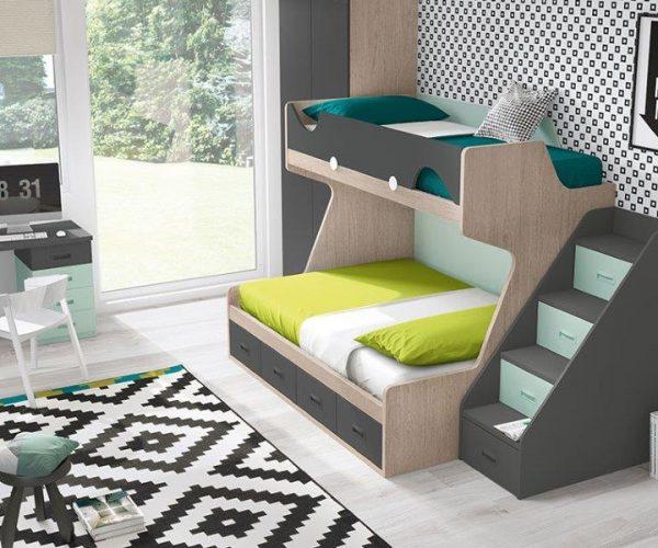 dviaukštė-lova-su-laipteliais-divstavu-gulta